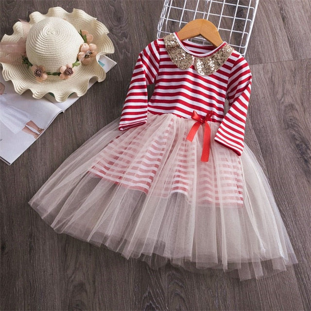 Candy Cane Striped Dress
