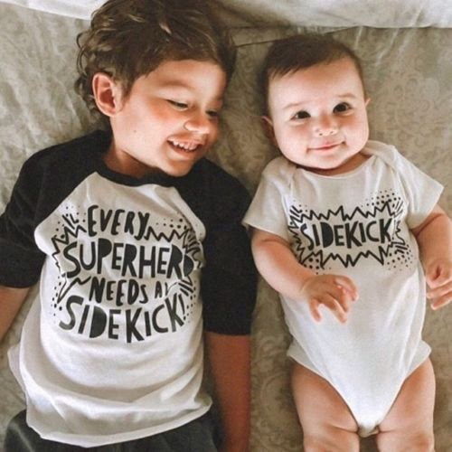 Every Superhero Needs A Sidekick Matching Shirts