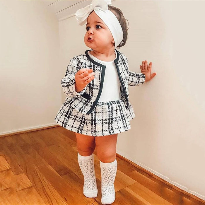 Camille Plaid Formal Outfit
