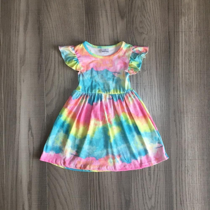 Tie Dye Cloud Dress