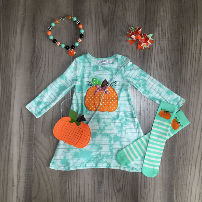 Pumpkin Dress and Accessories