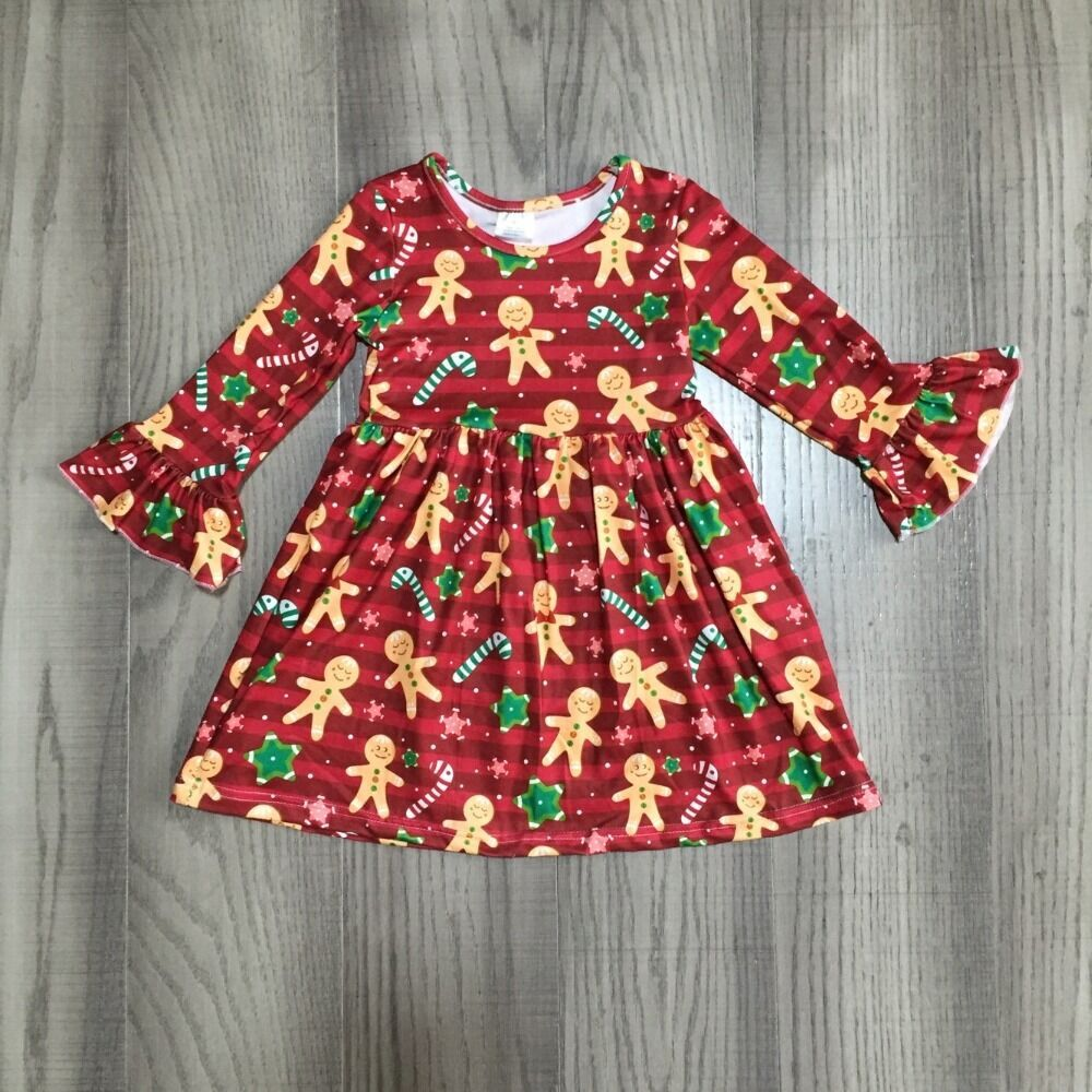 Gingerbread Christmas Dress