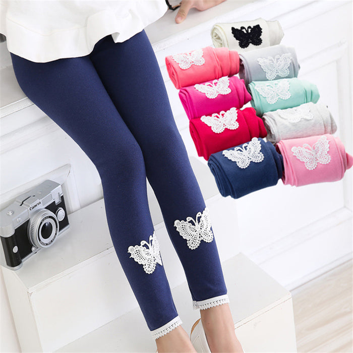 Cotton Butterfly Leggings