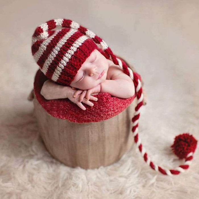 Christmas Hat Newborn Photography Outfit