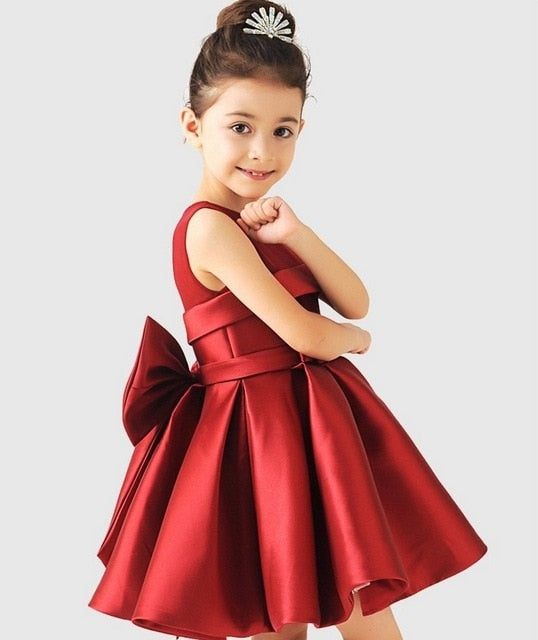 Satin Princess Dress