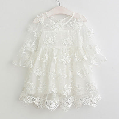 Party Princess Lace Dress - Beautiful Blessing Boutique Clothing Shop