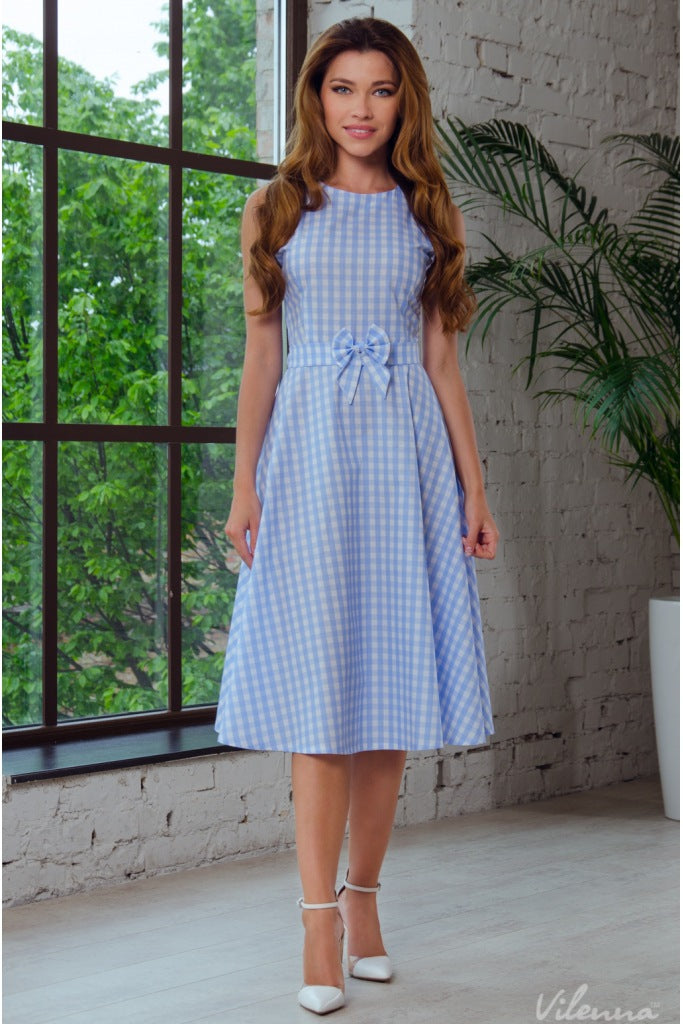 Gingham Matching Mommy & Me Dresses - Daughter - Beautiful Blessing Boutique Clothing Shop