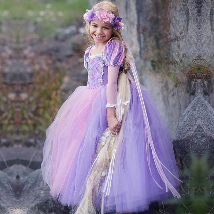 Rapunzel Halloween Costume - Beautiful Blessing Boutique Clothing Shop