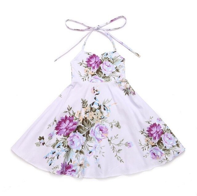 Ella Vintage Rose Floral Dress