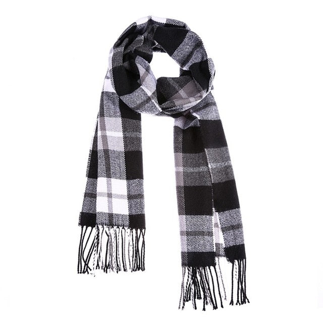 Plaid Kids Scarf