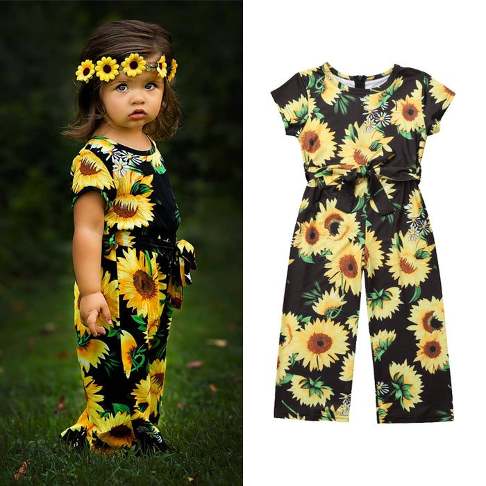 Trinity Sunflower Jumpsuit