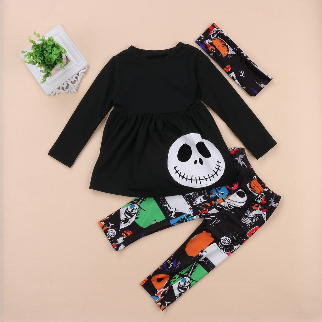 Nightmare Before Christmas 3 Piece Outfit