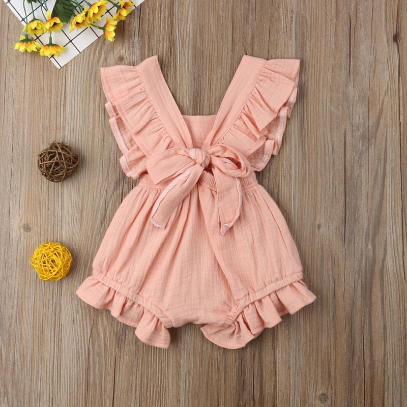 Sutton Backless Romper
