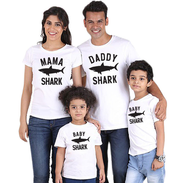 Shark Family Matching Shirts