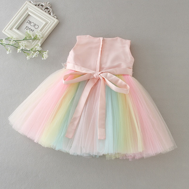 Rainbow Birthday Dress