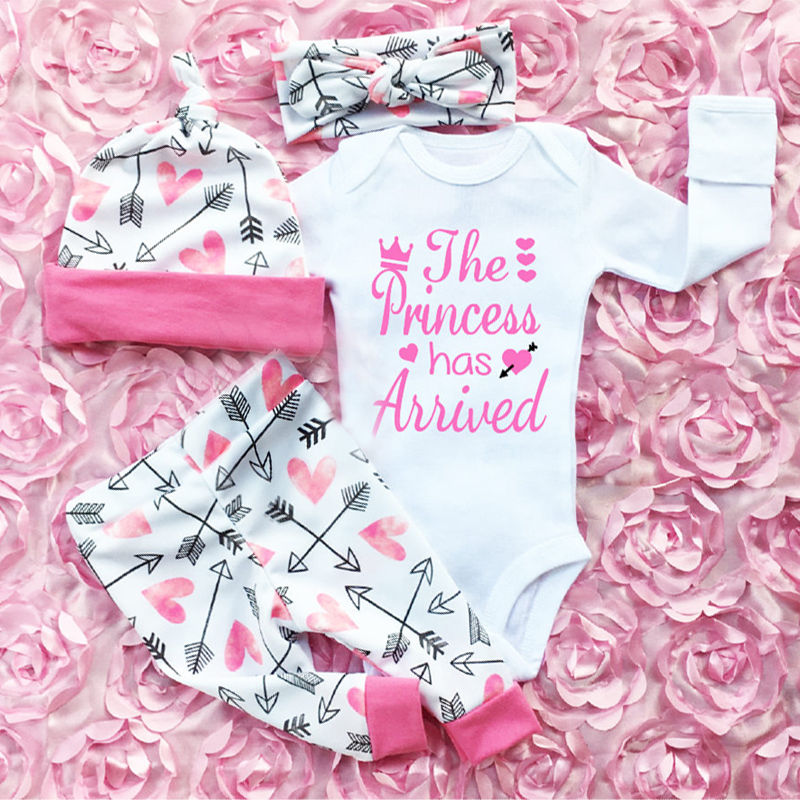 The Princess Has Arrived Baby Outfit