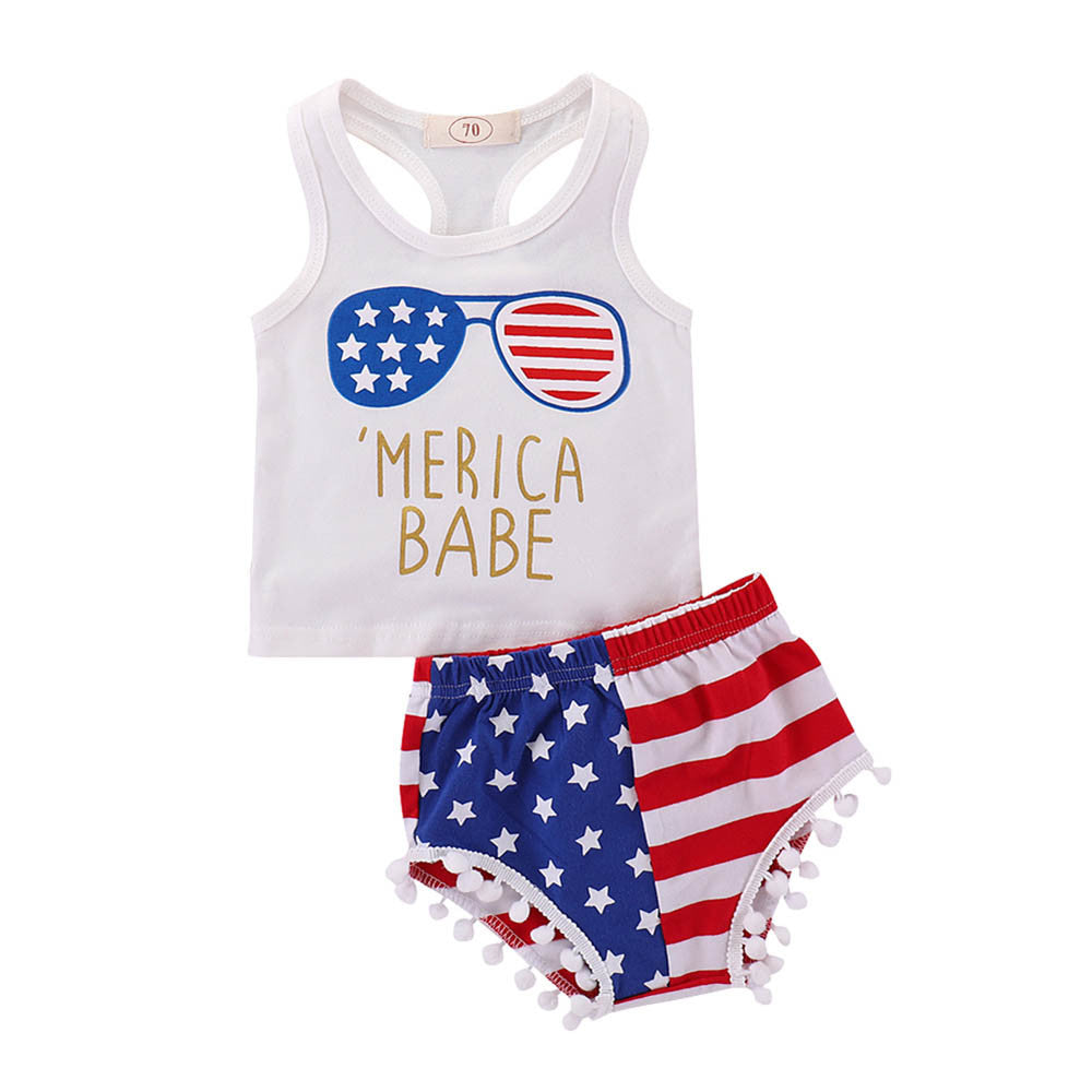 'Merica Baby Outfit