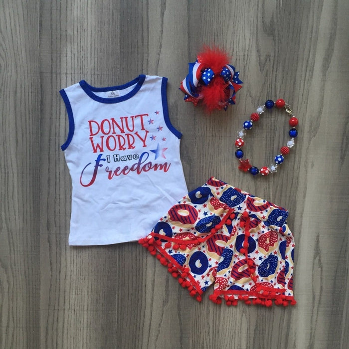 Donut Worry I Have Freedom Outfit