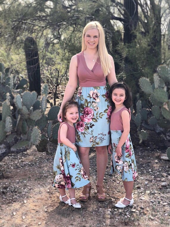 Emilia Matching Mommy And Me Dress