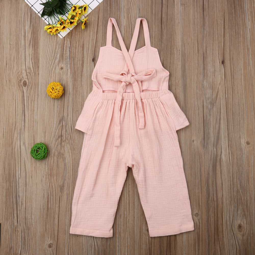 Summer Ruffle Jumpsuit