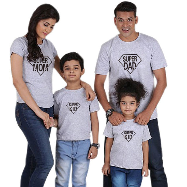 Super Family Matching Shirts