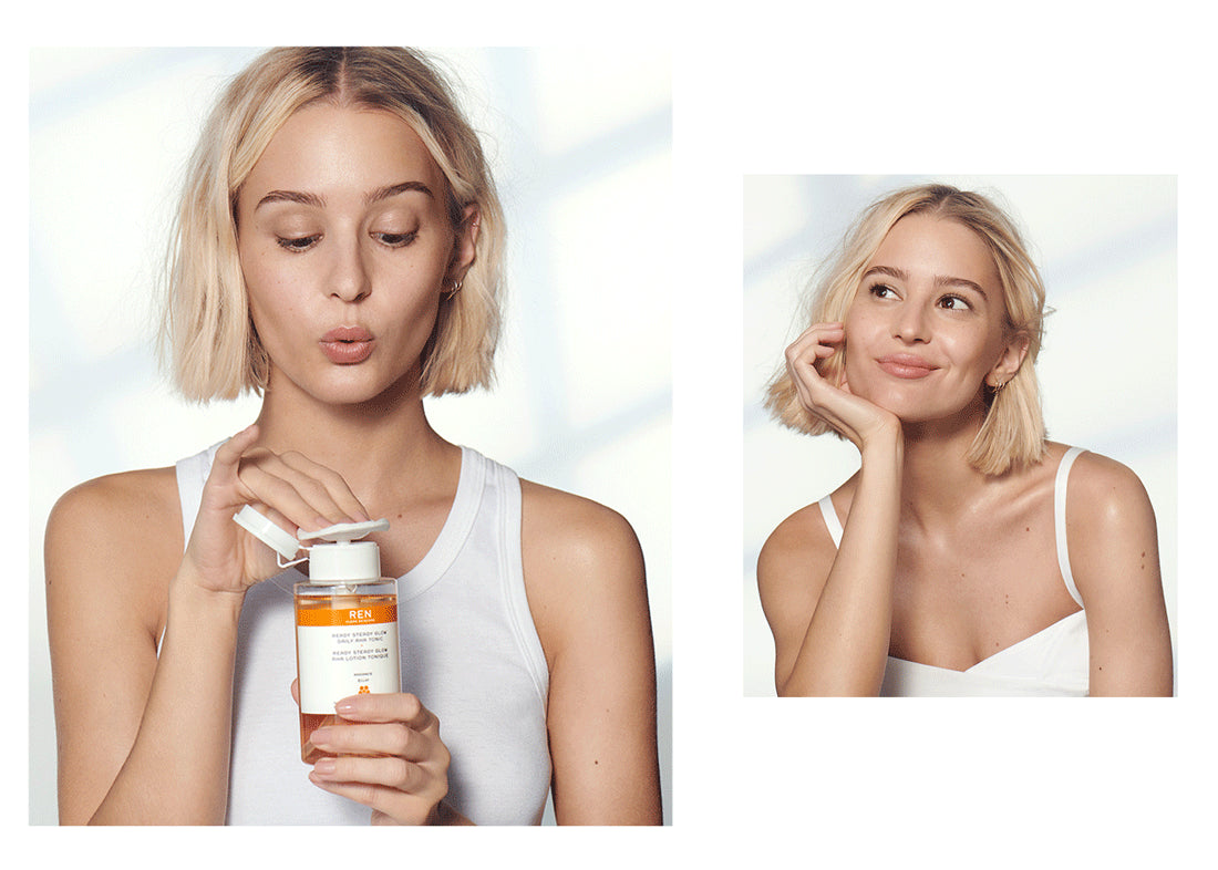 Ready Steady Glow Daily AHA Tonic: FAQs.