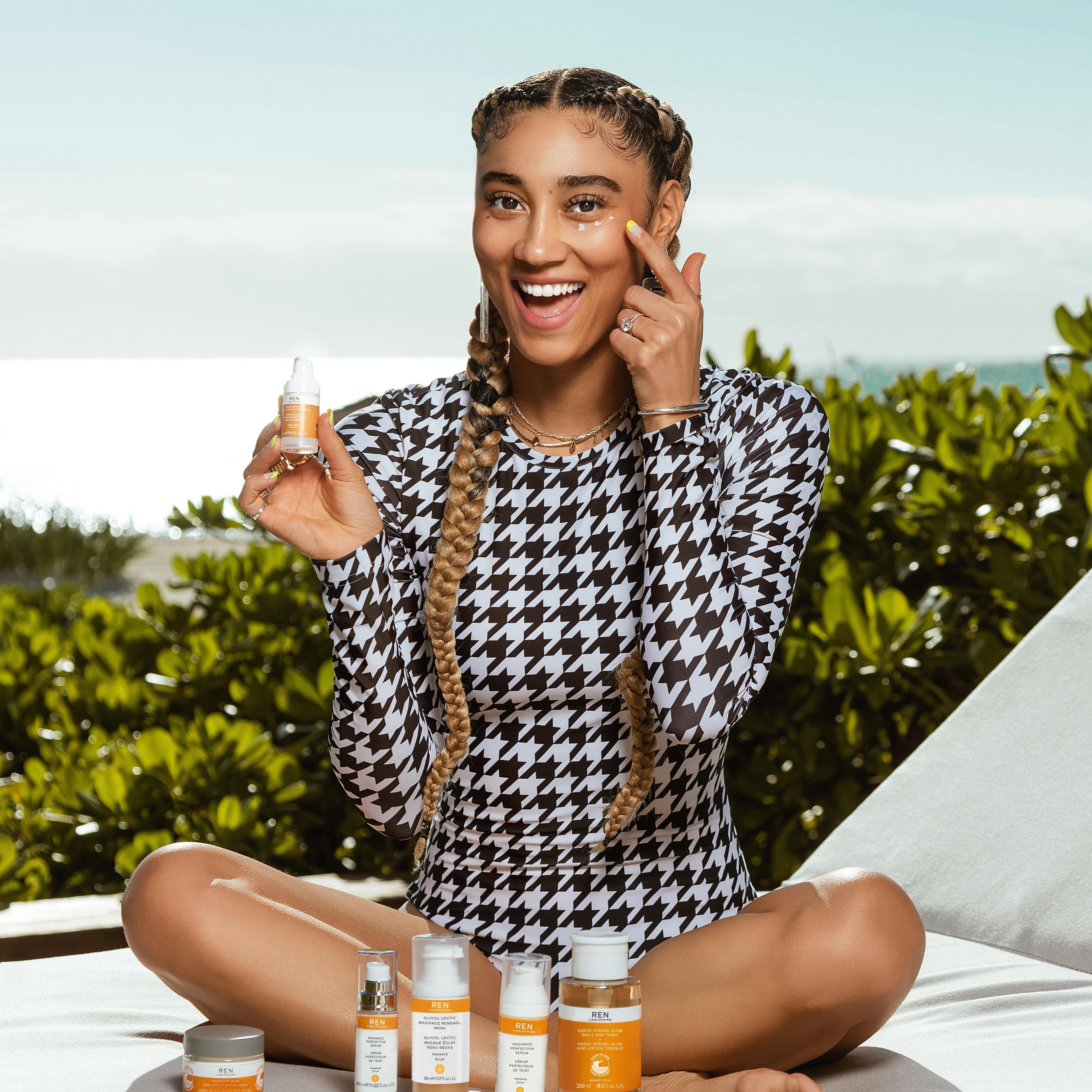 Ally Love's Post-Workout Skincare Routine
