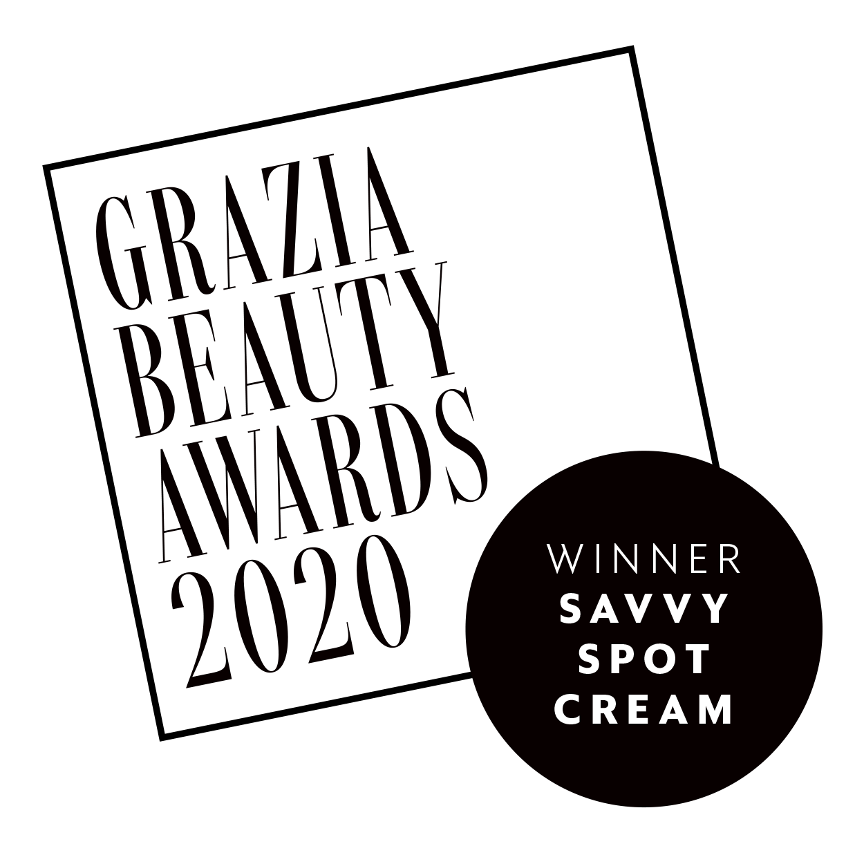 GRAZIA BEAUTY AWARDS 2020 Clearcalm Non-Drying Acne Treatment Gel