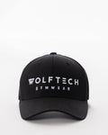 Black snapback from wolftech gym wear