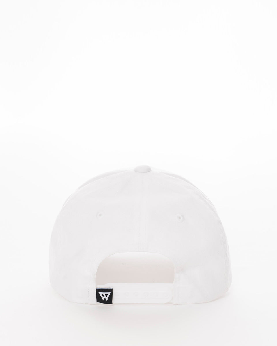 White snapback back from wolftech gym wear