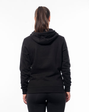 Fitness hoodie black women from wolftech gym wear