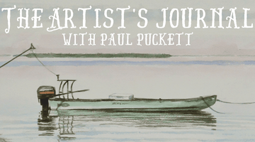 The Artist's Journal with Paul Puckett: Amelia Island, Florida