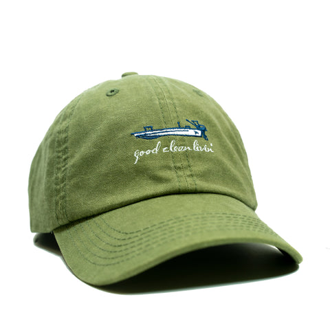 GCL Skiff Embroidered Hat - Dad hat!