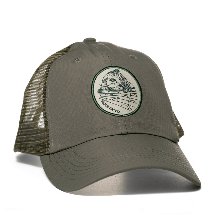 Fighting Trout Performance Trucker Hat