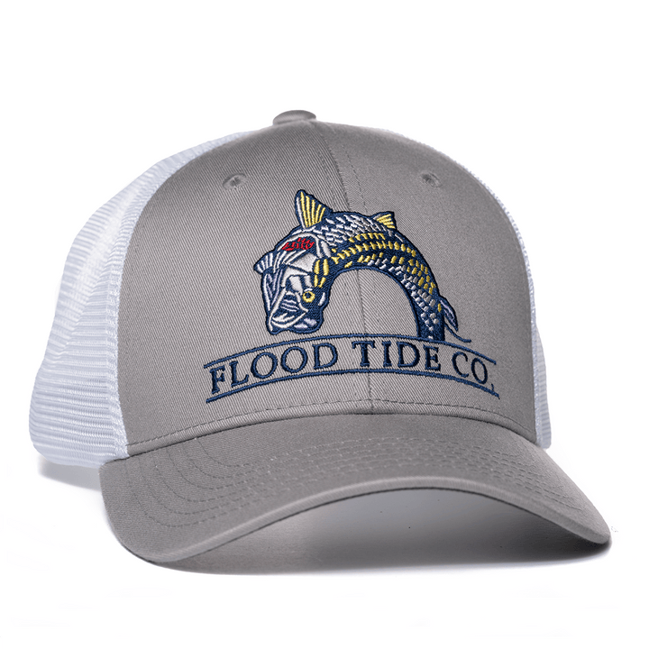 Jumping Tarpon Trucker Hat
