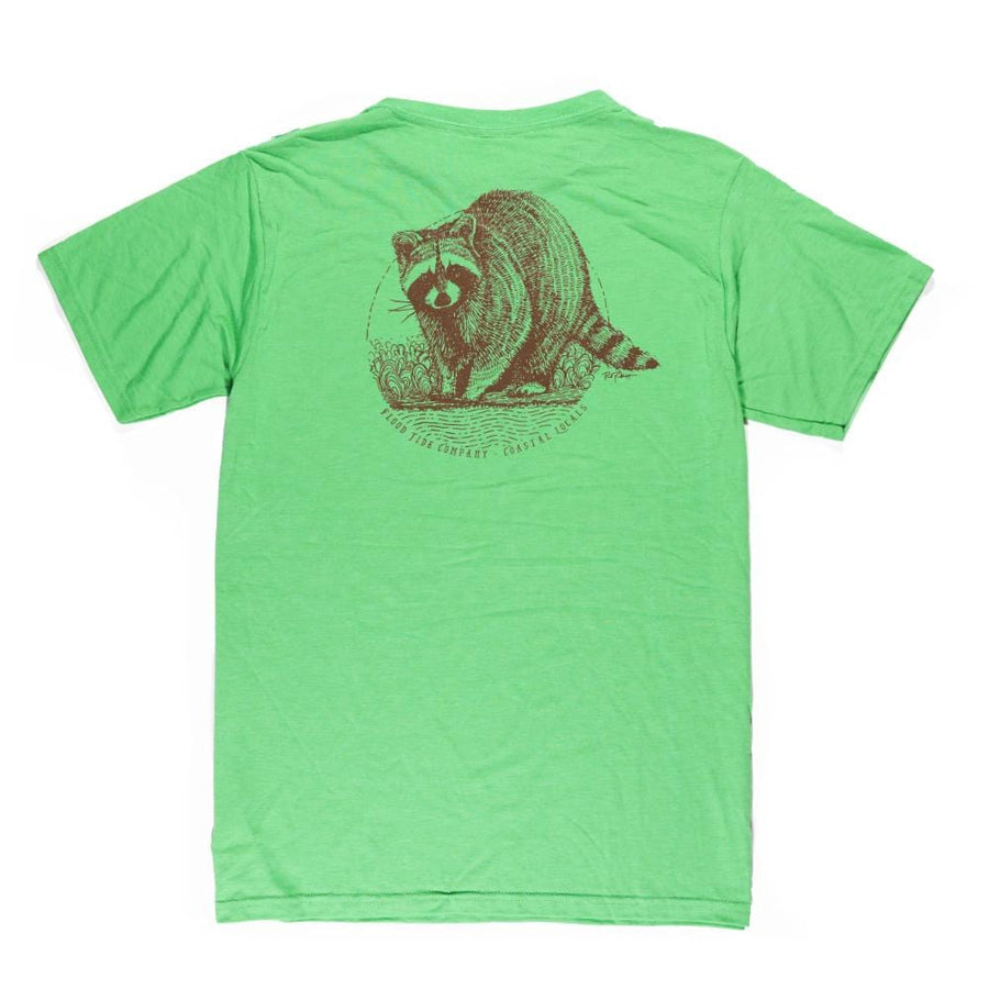 Coastal Raccoon T-Shirt
