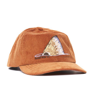 Red Flag Cord Hat