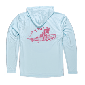 Surf N Turf Hooded Sunshirt