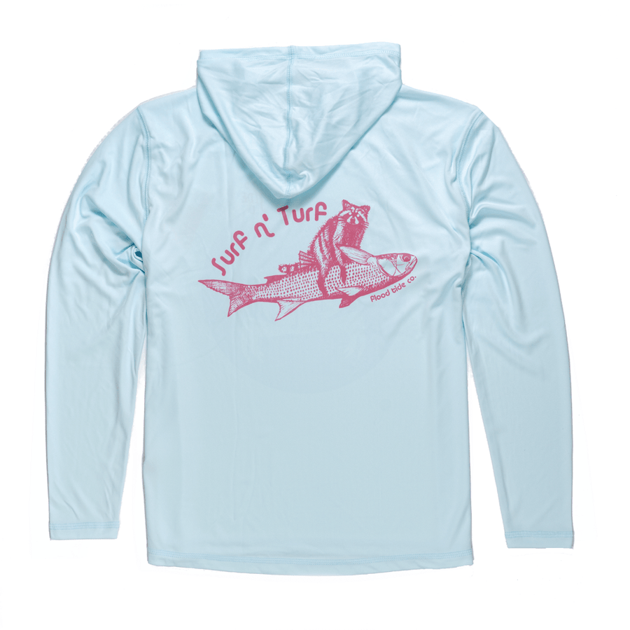 Surf N Turf Hooded Solarshirt