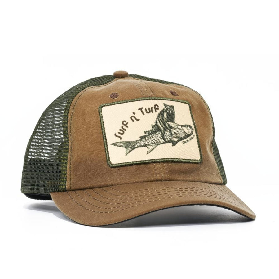 Surf N Turf Waxed Trucker Hat