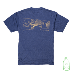 Vitruvian Redfish T-Shirt