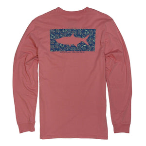 Wm Lamb x FTC Paisley Tarpon Long Sleeve T-Shirt
