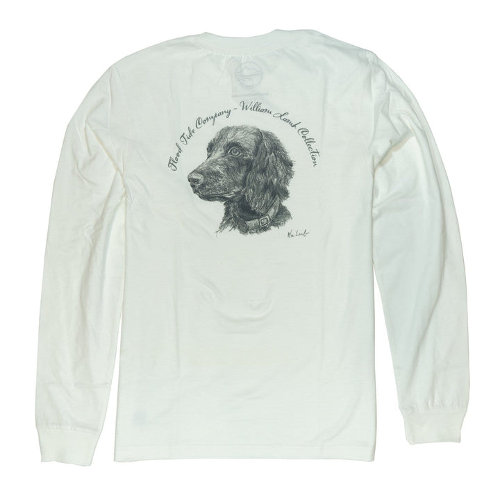 Wm Lamb x FTC Spaniel Dog Long Sleeve T-Shirt