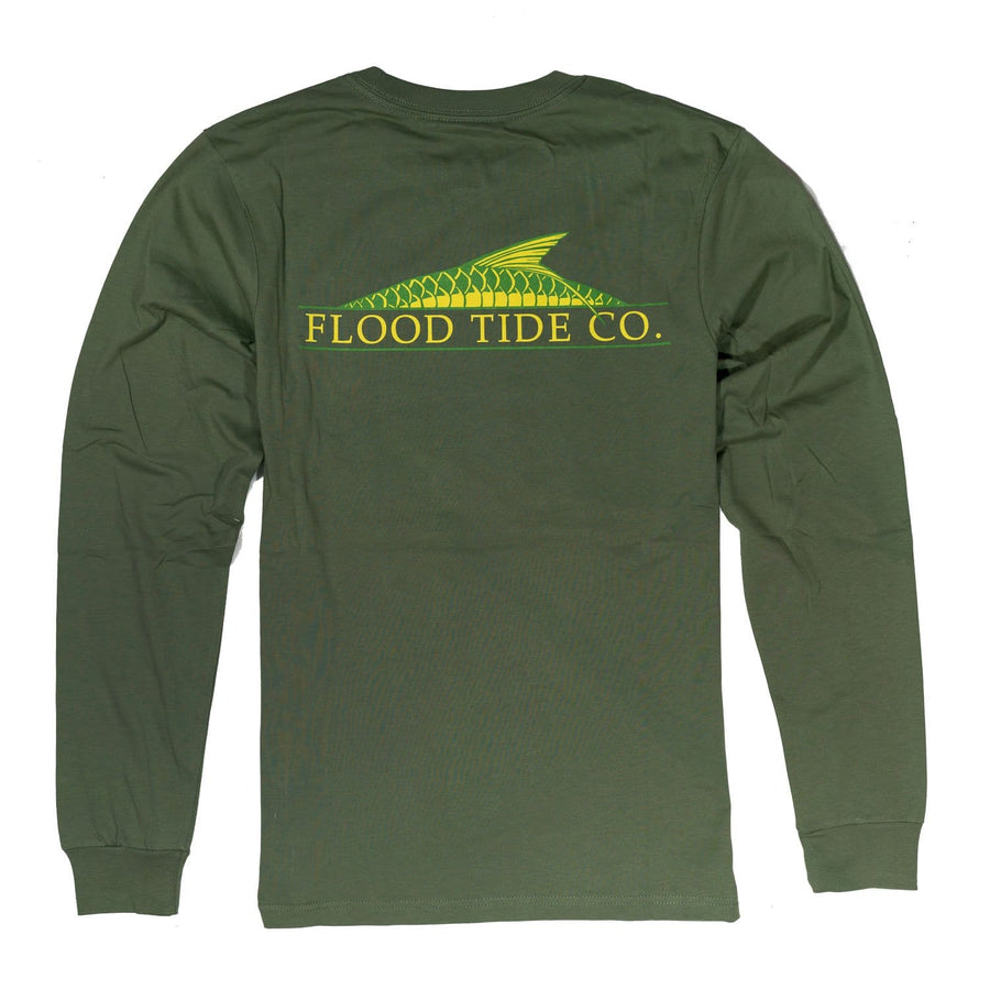 Rolling Tarpon Long Sleeve T-Shirt