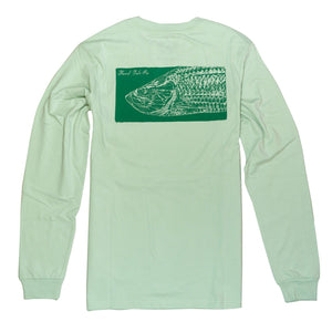 Tarpon Print Long Sleeve T-Shirt