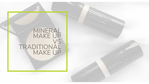 Mineral Make Up VS Traditional Make Up