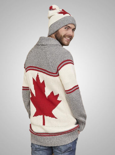Men's Canada Shawl Collar Sweater