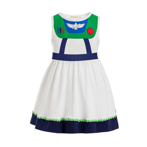 Buzz Lightyear Inspired Sleeveless Dress