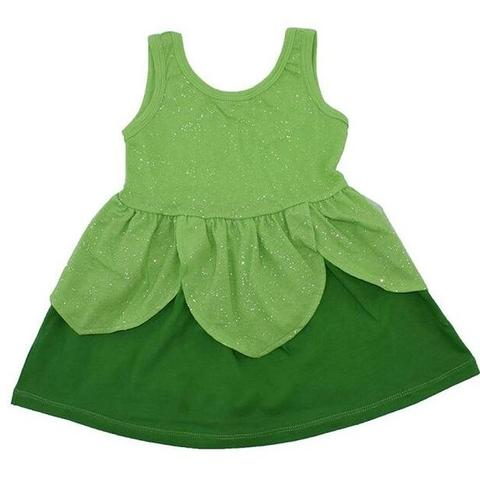 Tinkerbell Inspired Sleeveless Princess Dress