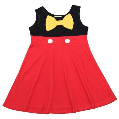 Mickey Inspired Sleeveless Dress